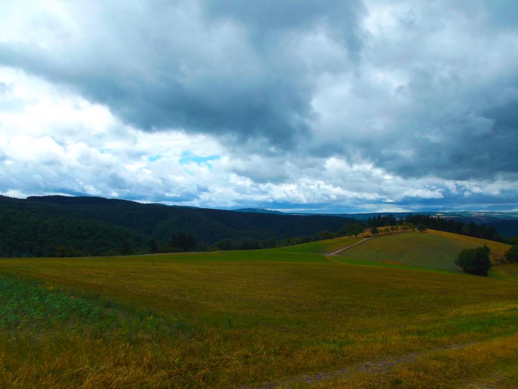 Облака над Пресбергом.