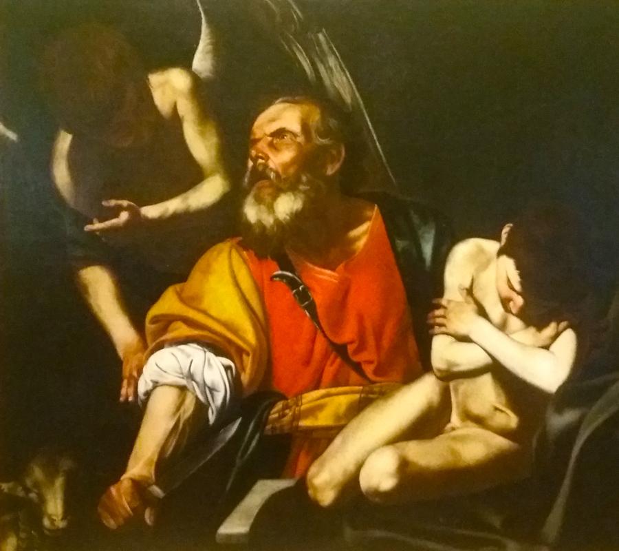 Opferung des Isaaks