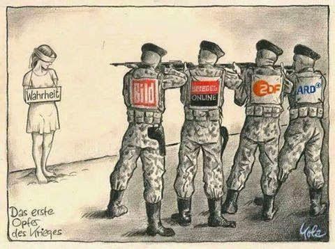 Расстрел ИСТИНЫ именитыми СМИ