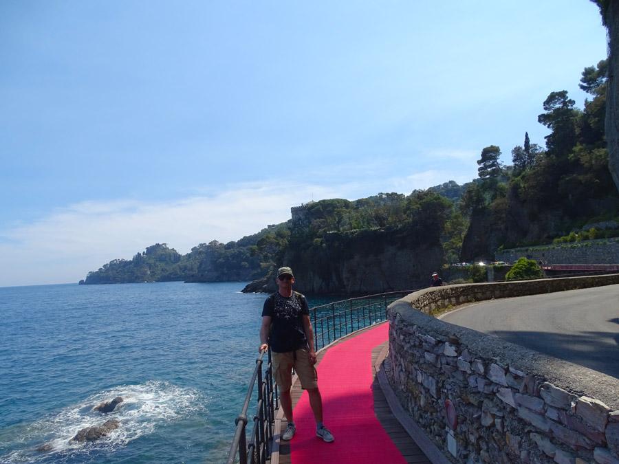 Красная дорожка из Порто Фино
