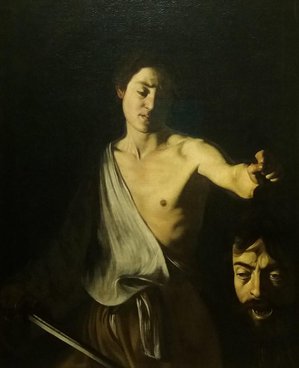 Караваджо. Давид и голова Голиафа