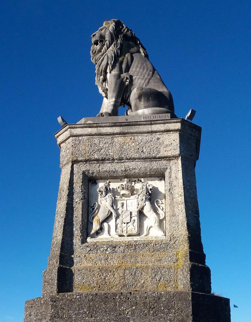 Лев в городе Линдау