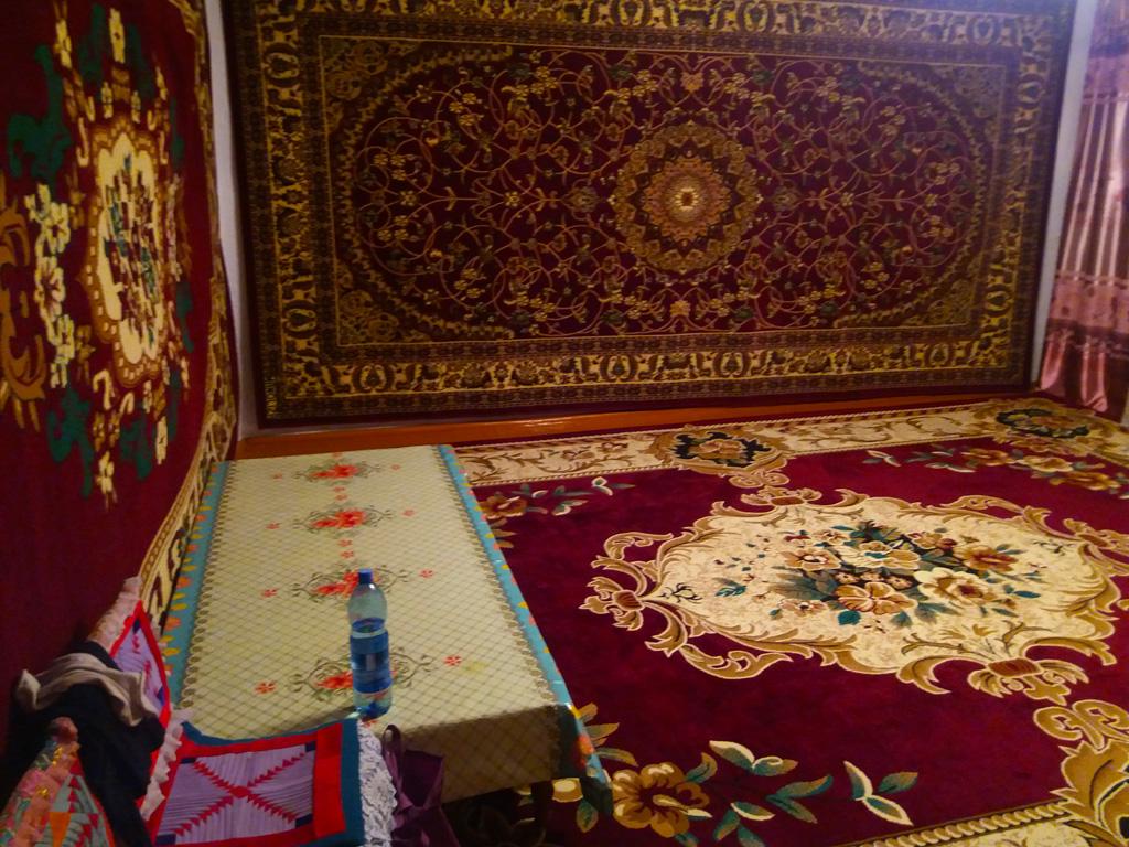 Гостинная в доме кыргызов