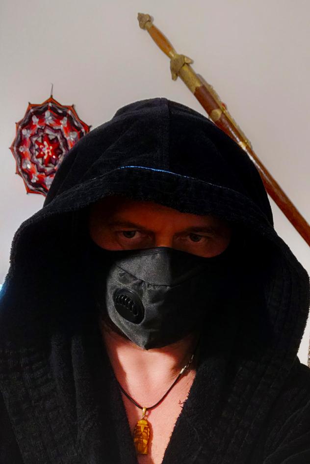 Метка времени - черная маска